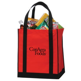 Apollo Grocery Tote with Your Slogan