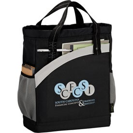 Arches Recycled Poly Backpack Tote
