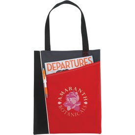 Printed Angular Tote Bag