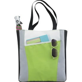 Color Accent Tote Bag for Customization