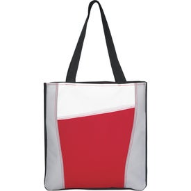 Branded Color Accent Tote Bag