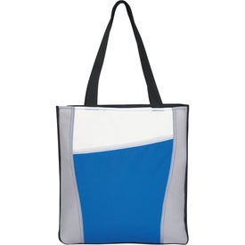 Promotional Color Accent Tote Bag