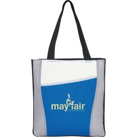 Customized Color Accent Tote Bag