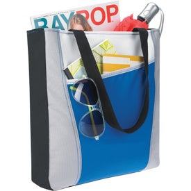 Color Accent Tote Bag for Your Company