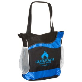 Branded Athletic Two-Tone Tote