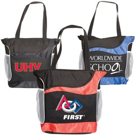 Athletic Two-Tone Tote Giveaways