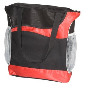 Athletic Two-Tone Tote for Marketing