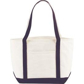 Atlantic Premium Cotton Boat Tote Bag with Your Logo