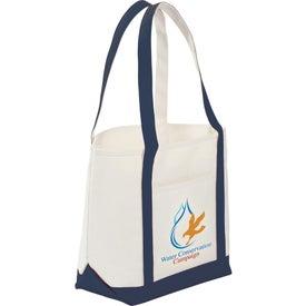 Advertising Atlantic Premium Cotton Boat Tote Bag