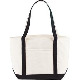 Printed Atlantic Premium Cotton Boat Tote Bag