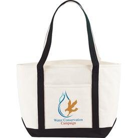 Branded Atlantic Premium Cotton Boat Tote Bag