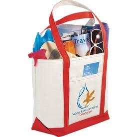 Atlantic Premium Cotton Boat Tote Bag with Your Slogan