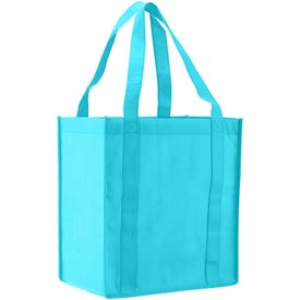 Atlas Nonwoven Grocery Tote Printed with Your Logo