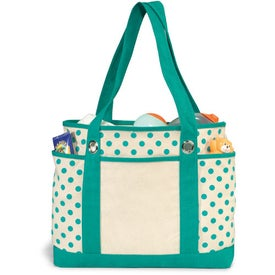 Audrey Fashion Tote Bag Printed with Your Logo
