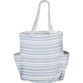 Avalon Cotton Weekend Tote Bag