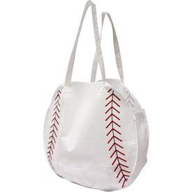 Logo Baseball Tote