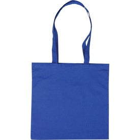 Basic Cotton Tote with Your Slogan