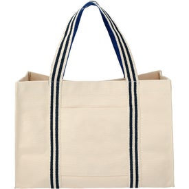 Belair 20 Oz Cotton Canvas Snap Tote