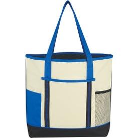 Monogrammed Berkshire Tote Bag