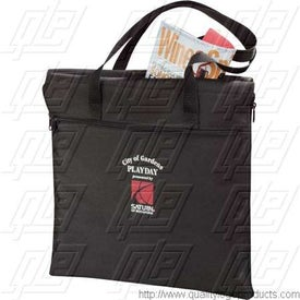 Branded Boundry Tote Blanket
