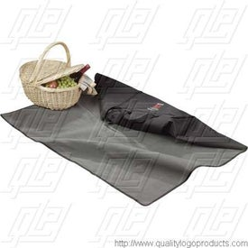 Boundry Tote Blanket Imprinted with Your Logo