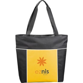 Broadway Zippered Business Tote Bag