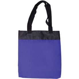 Advertising Budget Polyester Tote Bag