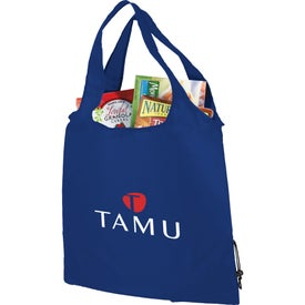 Bungalow Foldaway Shopper Tote for Promotion