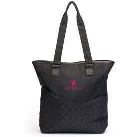 Custom By My Side Travel Tote Bag