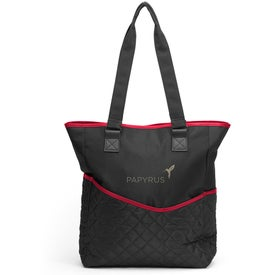 Advertising By My Side Travel Tote Bag