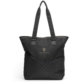 Monogrammed By My Side Travel Tote Bag
