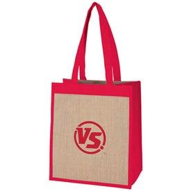 Cabana Combination Tote Bag for Customization
