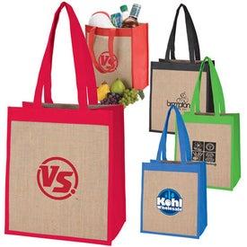 Logo Cabana Combination Tote Bag