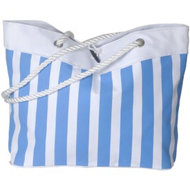 Branded Cabana Rope Tote