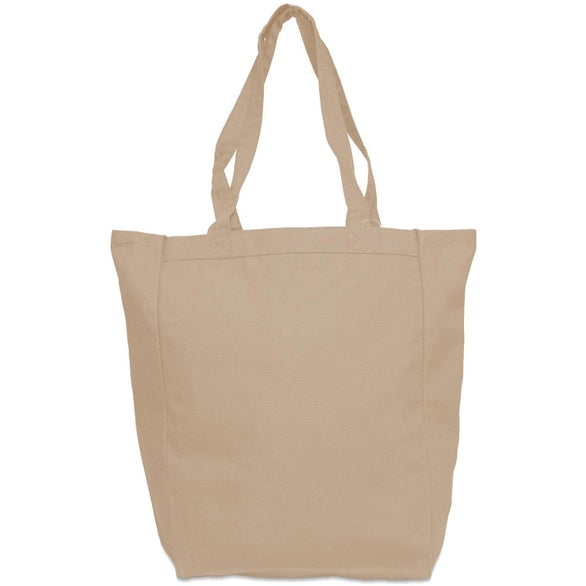Canvas Grocery Tote (Natural)