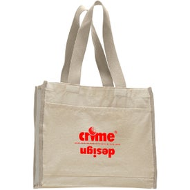 Canvas Gusset Tote Bag for Marketing