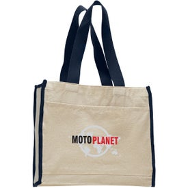 Canvas Gusset Tote Bag for Promotion