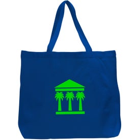 Canvas Jumbo Tote Bag with Your Logo