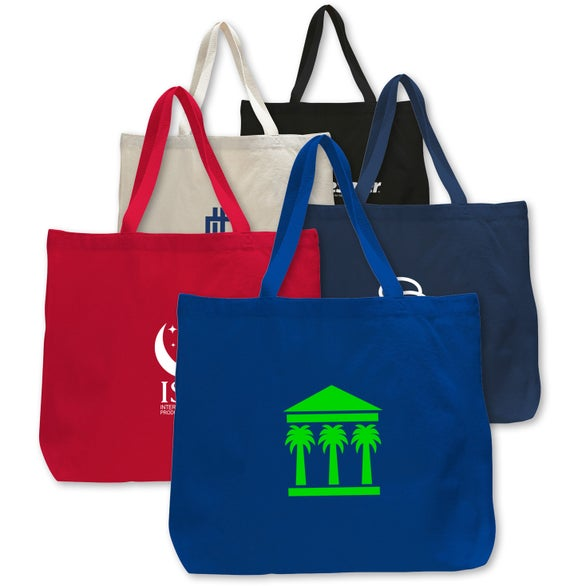 Canvas Jumbo Tote Bag