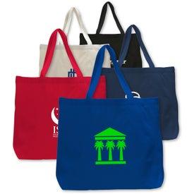 Canvas Jumbo Tote Bag for Marketing