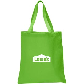 Canvas Promotional Tote Bag Branded with Your Logo