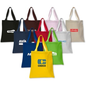 Printed Canvas Promotional Tote Bag
