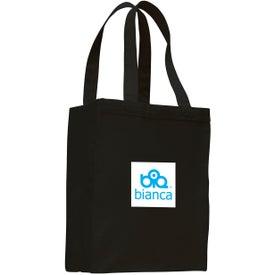 Printed Canvas Shopping Tote Bag