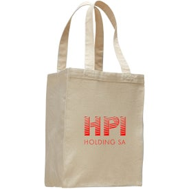 Canvas Shopping Tote Bag for Advertising