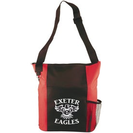 Canvas Shoulder Tote Bag Imprinted with Your Logo
