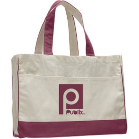 Branded Canvas Standard Tote Bag