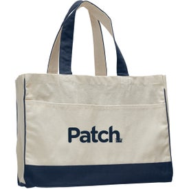 Canvas Standard Tote Bag Printed with Your Logo