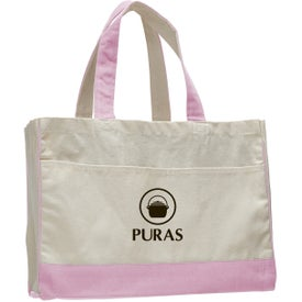 Logo Canvas Standard Tote Bag