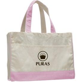 Logo Canvas Standard Tote Bag