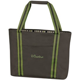 Cape Cod Reversible Tote Bag Imprinted with Your Logo